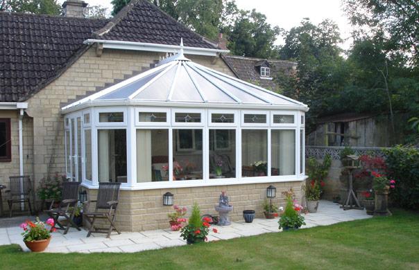 A classic Victorian conservatory